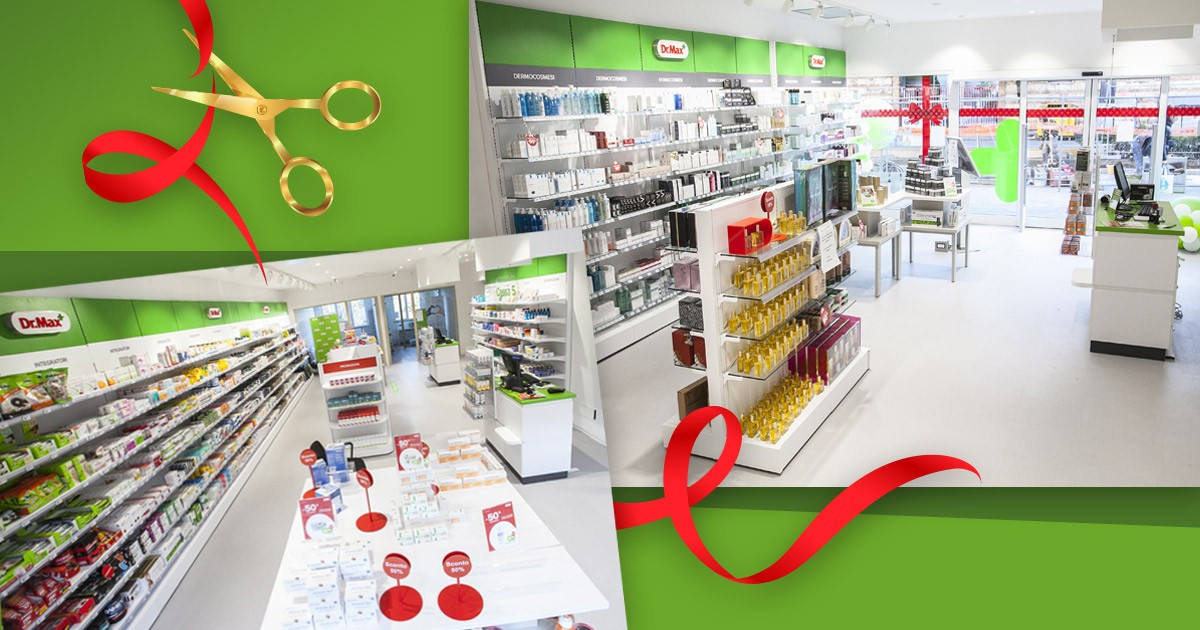 Congratulations on opening DrMax pharmacy in Italy! image